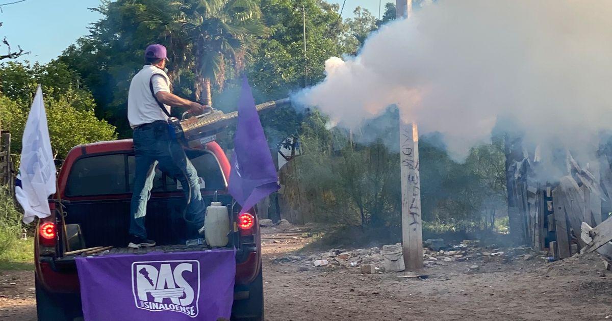 Photo of El PAS realiza jornada de fumigación en la colonia ferrocarrilera