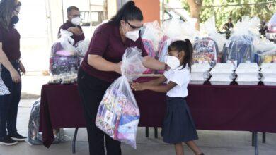 Photo of DIF Ahome lleva apoyos del programa Pasos Felices a los niños y niñas de la comunidad indígena yoreme de El Añil.