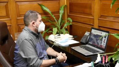 Photo of Alcalde de Ahome  Monitorea el  Tercer Informe de la 63 Legislativo del Grupo Parlamentario de  Morena