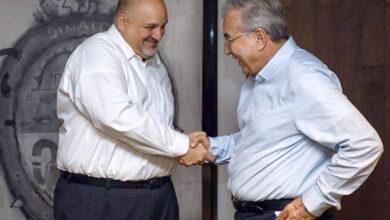 Photo of En Pláticas  Gobernador Electo, Rocha Moya y Cónsul de (EU), Para  Certificar la Exportación de Camarón.