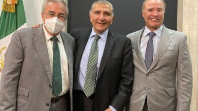 Photo of Rocha moya y Quirino Ordaz, se Reunieron con el Secretario de Gobernación, para Tratar Temas Económicos para al Cierre de Año.