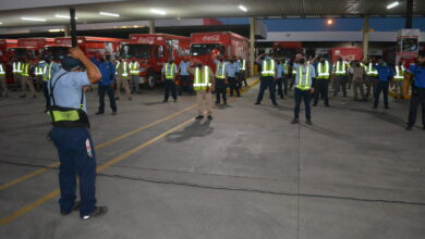 Photo of Capacitan a choferes de Empresas Refresqueras, en Manejo Preventivo, Impartida por Tránsito Municipal.