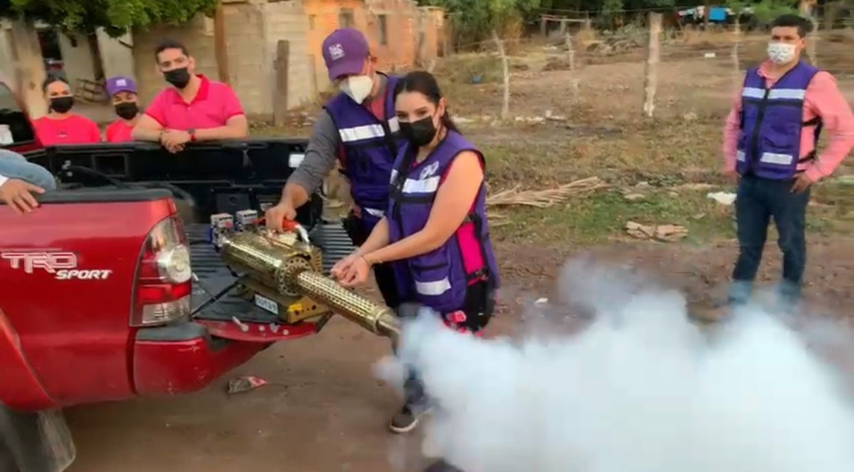 Photo of El PAS continua con las Jornadas de Fumigación hoy estuvieron en topolobampo, flores Magón y el centro de rehabilitación CRREAD