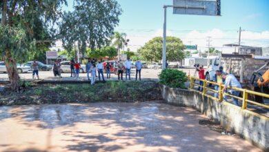 Photo of Supervisa Juan Fierro trabajos de limpieza tras lluvias en Ahome
